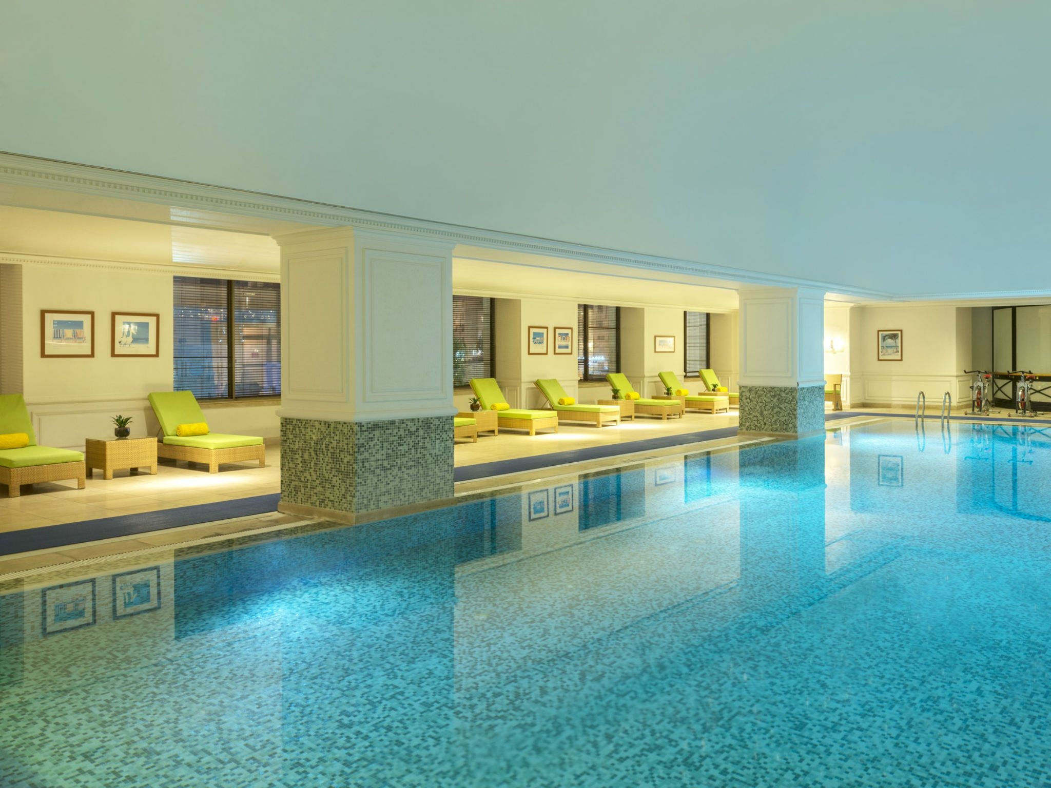 Indoor Swimming Pool at Sheraton Amman Al Nabil Hotel